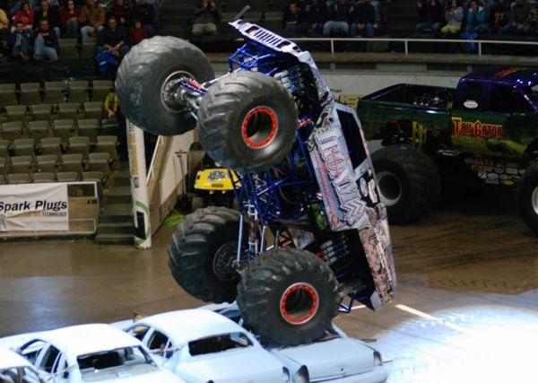 Iron Man Hummer Monster Truck