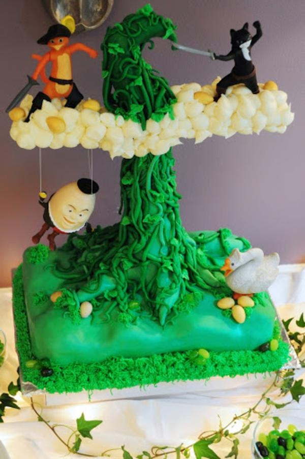 Jack And The Beanstalk Cake Toppers
