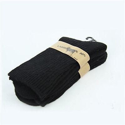 1ceab3a12 Winter Mens Army Socks Long Knee High Military Socks Thermal Wool Thickness  Socks Size 9 to11
