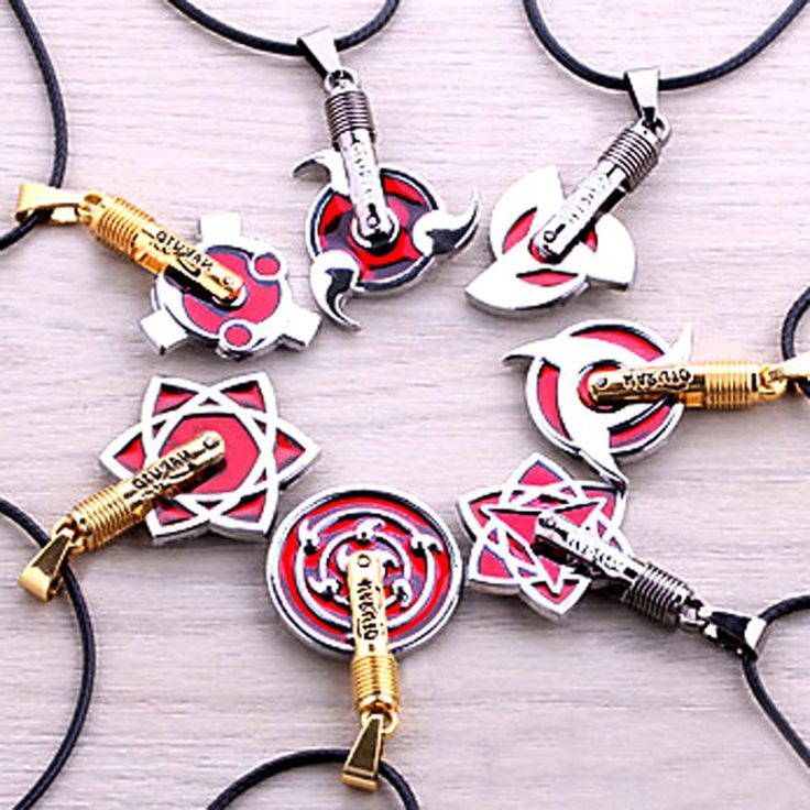 If the Uchiha Clanwere into jewelry they'd defiantly be rocking one of these necklaces! These stylishNaruto pendants are available in seven different Sharingan designs, creating anexcellent gift idea for that ninja in your life.