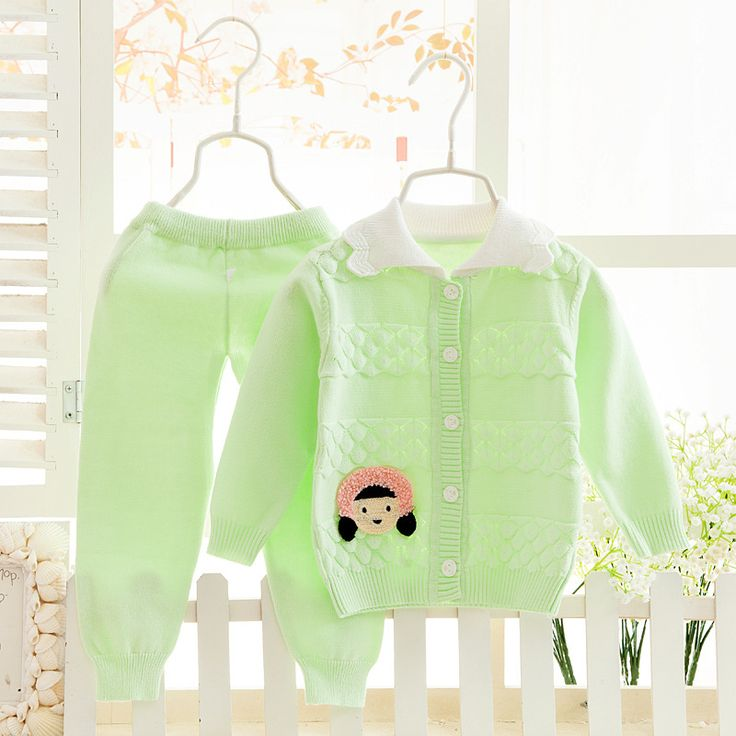 >> Click to Buy << Super Hot Korean Style Boys&girls Baby Children Suits Wholesale Children Cotton Pullover Sweater Suits New Winter Baby 2016 #Affiliate