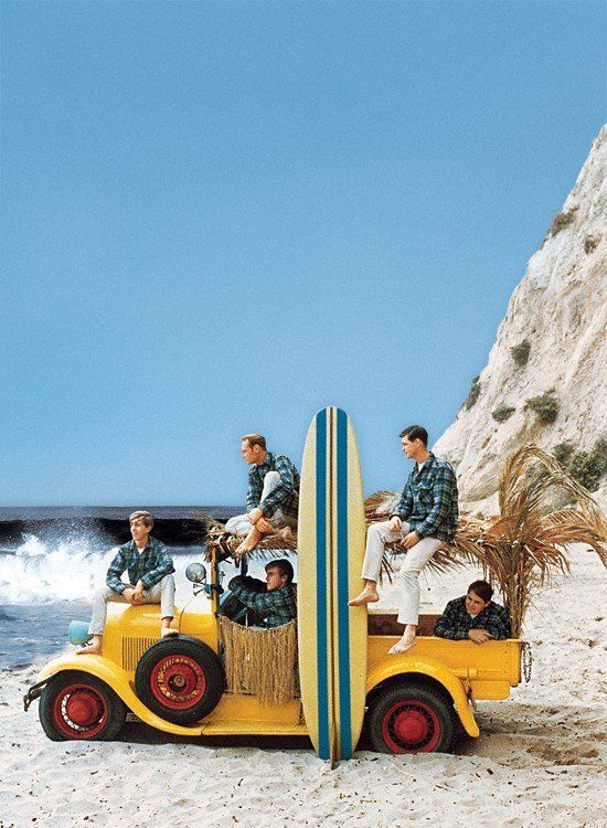The Beach Boys yep I have been spending way to much time listening to 80's music haha