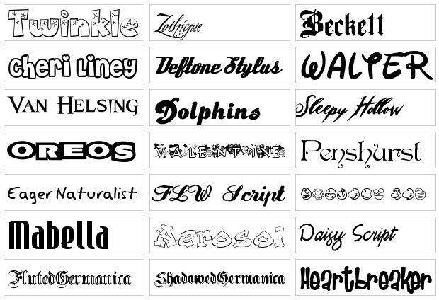 tipografia -500