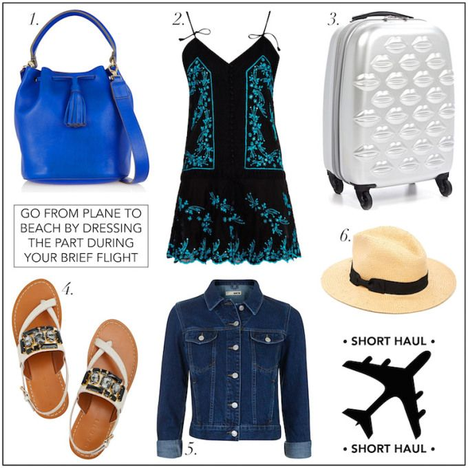 3 Stylish Travel Outfits to Fly In This Summer