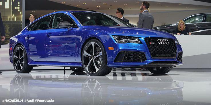 NAIAS 2014: Audi RS 7 #windscreen http://www.windblox.com