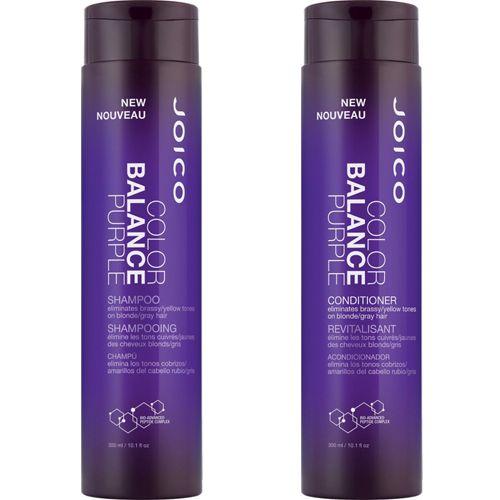 Joico Color Balance Purple Shampoo and Conditioner Duo 10.1oz