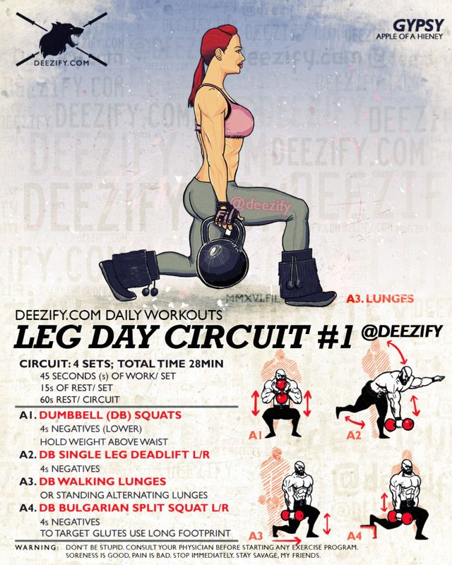 The Most Efficient Leg Workout. Get the most out of your leg workout by combining 4 exercises together to totally annihilate your legs.