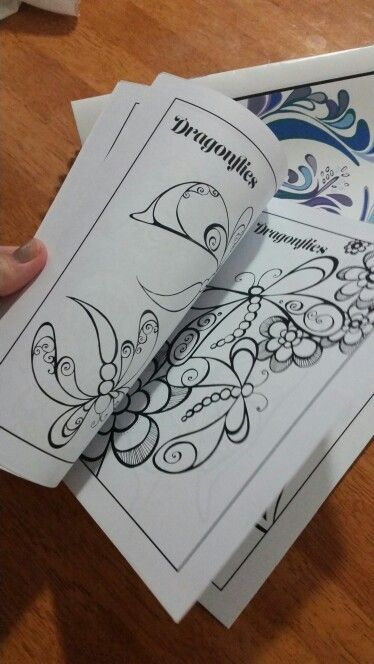 Colouring in page by Joanna Osborne