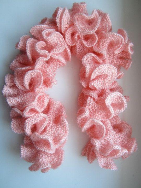 hyperbolic crochet scarf