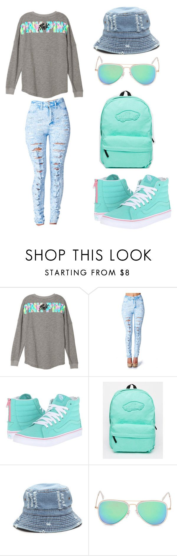 """Mint green"" by jonelle2003 on Polyvore featuring Vans"