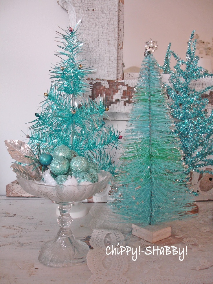 25 Best Ideas About Teal Christmas Tree On Pinterest