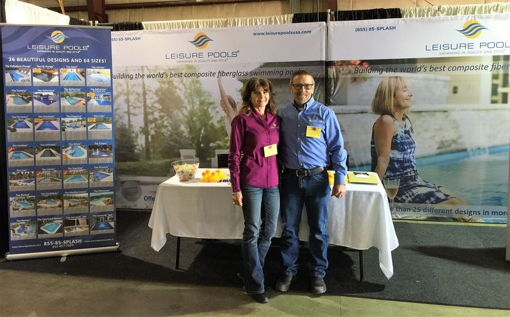 Leisure Pools is at the Maricopa County Home Show in Phoenix!  Talk to Sharon & Dan about how we can help you enjoy your well-deserved life of leisure this year!