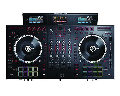 Numark NS7III 4-Channel Motorized DJ Controller & Mixer with Screens - http://djsoftwarereview.com/most-popular-dj-mixers/numark-ns7iii-4-channel-motorized-dj-controller-mixer-with-screens/ #DJMixer, #DJequipment, #PioneerDJ, #Music Mixer, #DJApp, #DJSoftware, #DJTurntables, #DJLighting