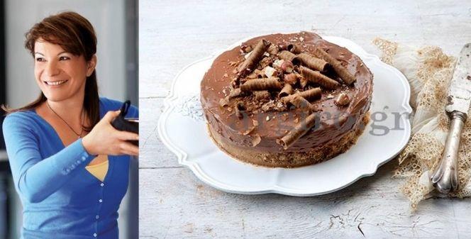 Πεντανόστιμο cheesecake Nutella από την Αργυρώ!