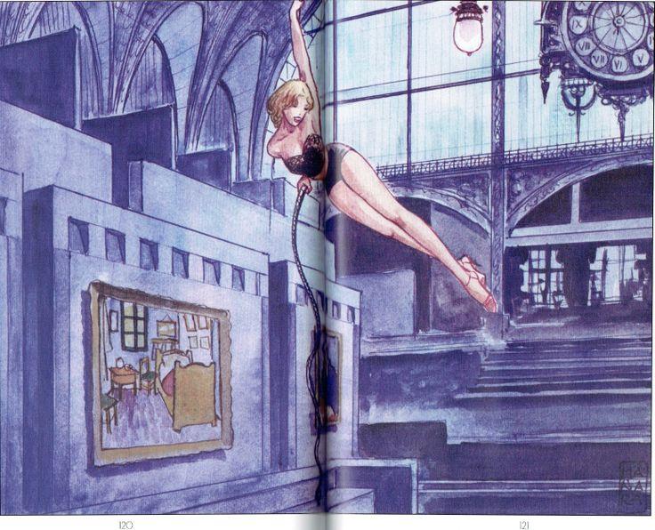 Manara Maestro dell'Eros-Vol. 23, Manara e il teatro-120, 121