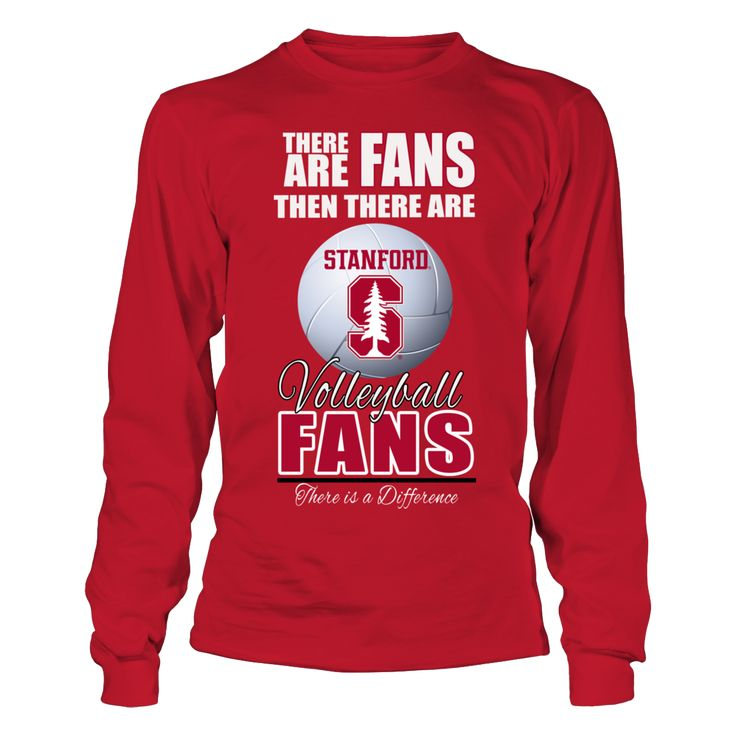 Standford Cardinal Volleyball - Fan Shirt T-Shirt, _Standford Cardinal Volleyball _Witness some of the best women's college volleyball in the country with the Standford Volleyball womens team. Cardinal volleyball is almost fanatical with good reason. The Stanford University volleyball team rules the floor when it comes to NCAA volleyball and the... The Stanford Cardinal Collection, OFFICIAL MERCHANDISE  Available Products:          Gildan Long-Sleeve T-Shirt - $33.95 District Women's Premium…