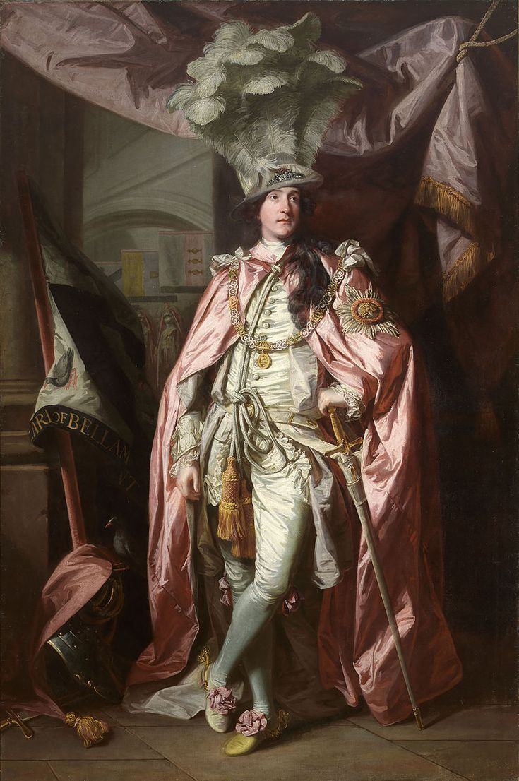 Portrait of Charles Coote, 1st Earl of Bellamont 1773 by Sir Joshua Reynolds (English 1723–1792)
