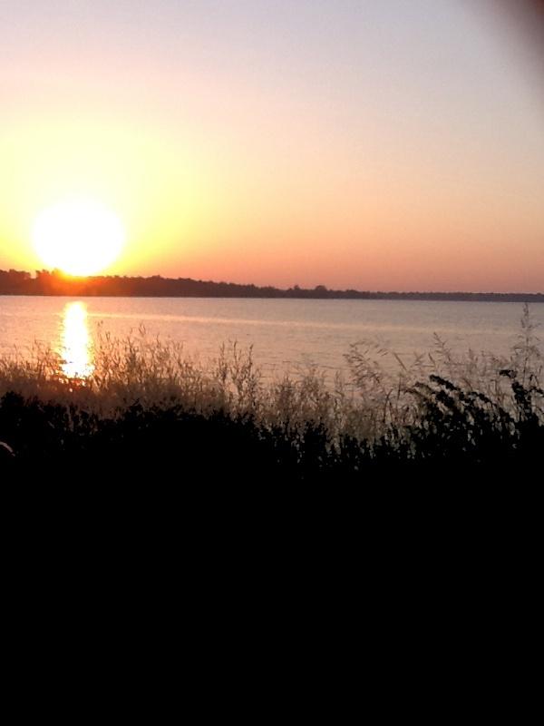 Morning time at the lake