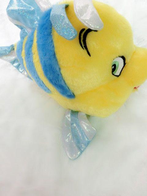 Rare origine Anime la petite sirène flet poisson mignon douce peluche peluche poupée cadeau d'anniversaire bébé cadeau Collection dans   de   sur AliExpress.com | Alibaba Group