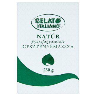 Gelato Italiano natúr gyorsfagyasztott gesztenyemassza 250 g - Tesco Bevásárlás
