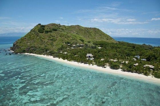 Vomo Island with Hillside Villas. Vomo Island Resort, Fiji  www.islandescapes.com.au