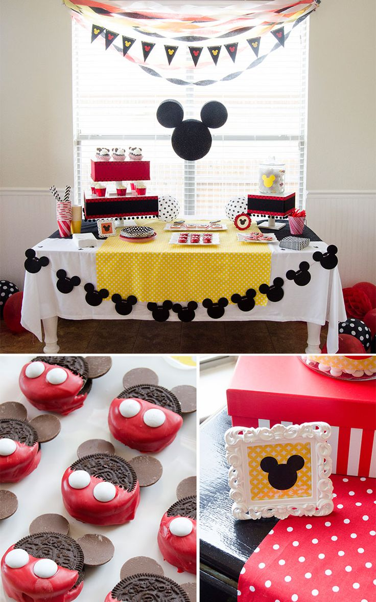 Aniversário temático Mickey Mouse