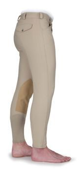 Shires Mens Knee Patch Breech 32 Gray: Shires Men's Knee Patch Breech A stunning combination of… #Horse #Horses #Pets #Equestrian #Rider