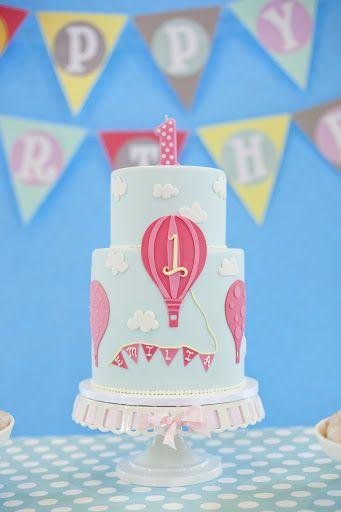 Jane: An Event Design & Coordination Co. » Blog Archive » Emilia's 1st Birthday hot air balloon