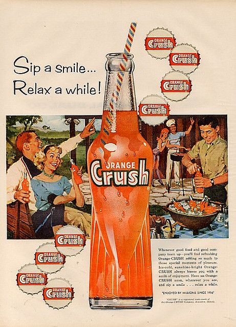 an analysis of the advertisement orange crush