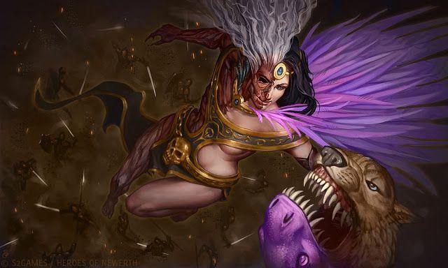 ۞ ADM Sleipnir         Na mitologia nórdica, Hel  ( Hela , Halja  ou ainda Hell ) é a deusa da morte e soberana do Helheim, o submundo nórdi...