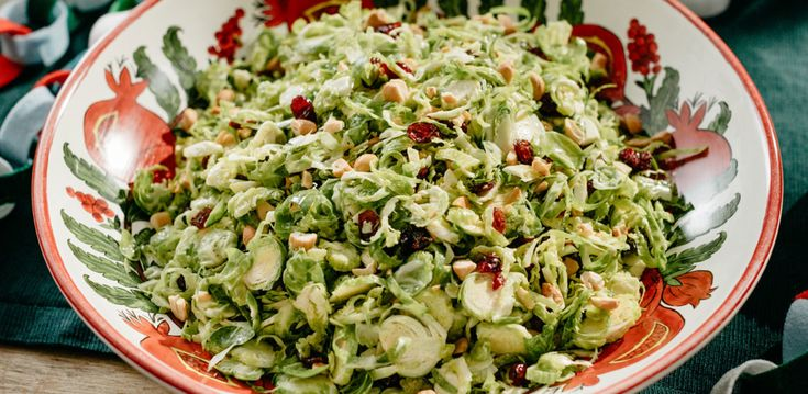 Brussels Sprouts Salad With Cranberries Amp Dijon Dressing