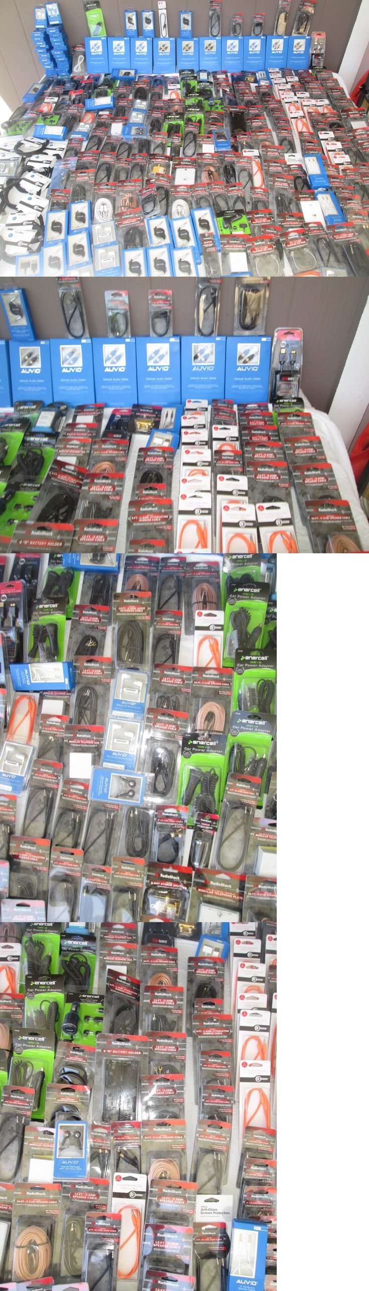 Other Consumer Electronic Lots: Wholesale Lot Of Radio Shack Merchandise 275 Pcs. For Retail New Jp 17 -> BUY IT NOW ONLY: $295.0 on eBay!