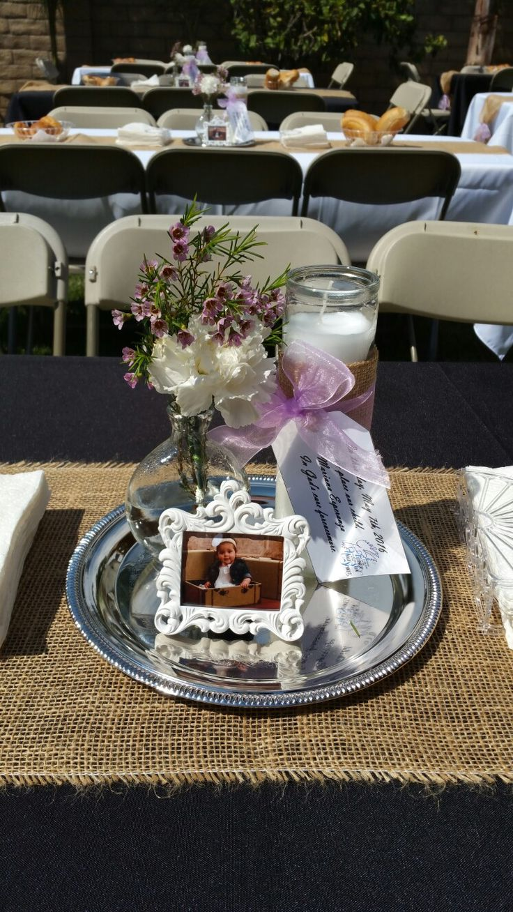25 best ideas about dollar tree centerpieces on pinterest dollar store centerpiece dollar - Simple baptism centerpieces ...