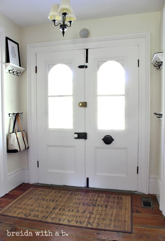 Foyer And Entryways Queensland : Vintage schoolhouse hooks for storage breidawithab