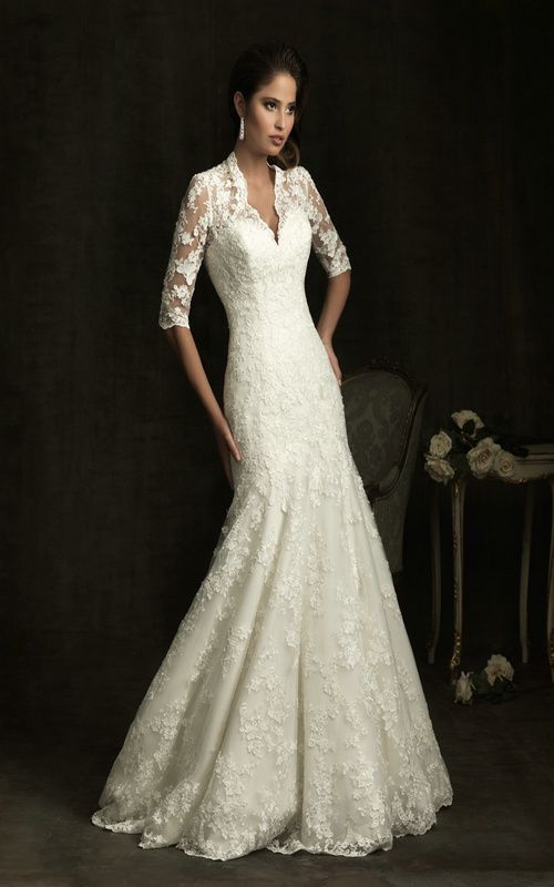 463 best images about wedding dresses on pinterest for Allure long sleeve wedding dress