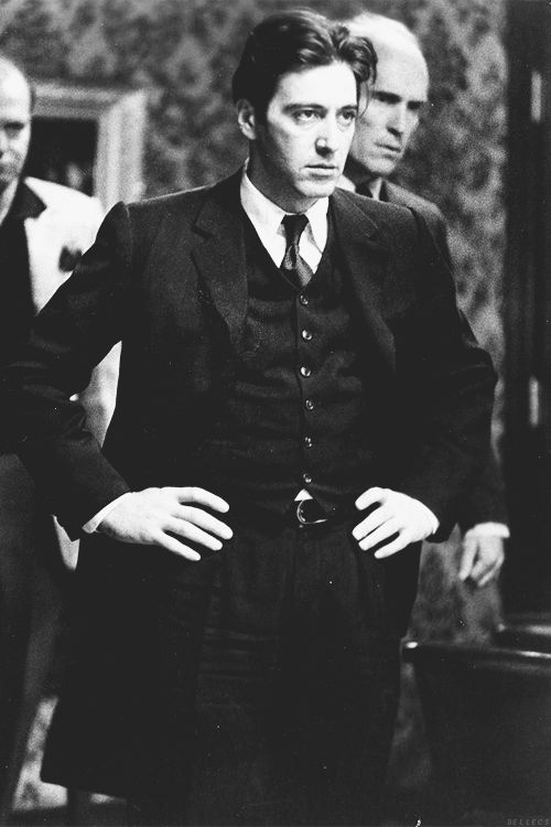 Al Pacino -  that intensity is electrifying.        You can see it in all his characters