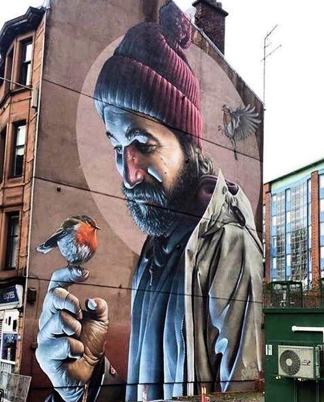 Finished! Smug in Glasgow, Scotland #streetart #streetartnews @smugone