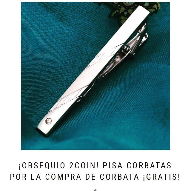 Cuando compras una corbata en #2Coin te regalamos el pisa corbata • • • • Mira nuestro productos: www.2coin.com.co  . . . #pisacorbata #metales #plata #classy #corbatas #elegancia #hombres #regaloshombre #regalo #masdeloquequieres