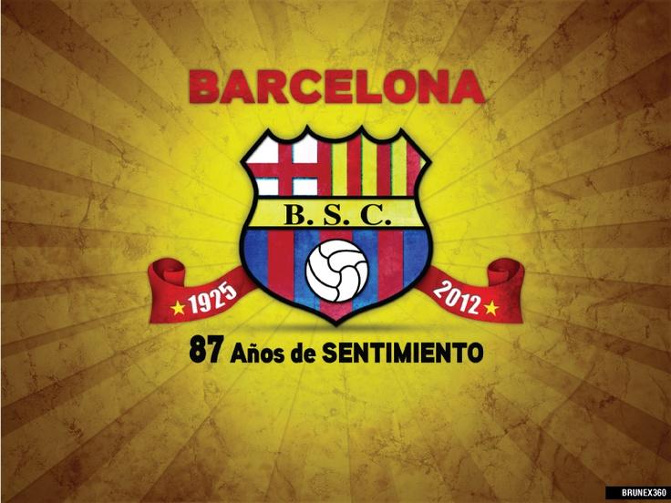 Por los 78 Años de Historia que tiene el Idolo del Astillero..Barcelona