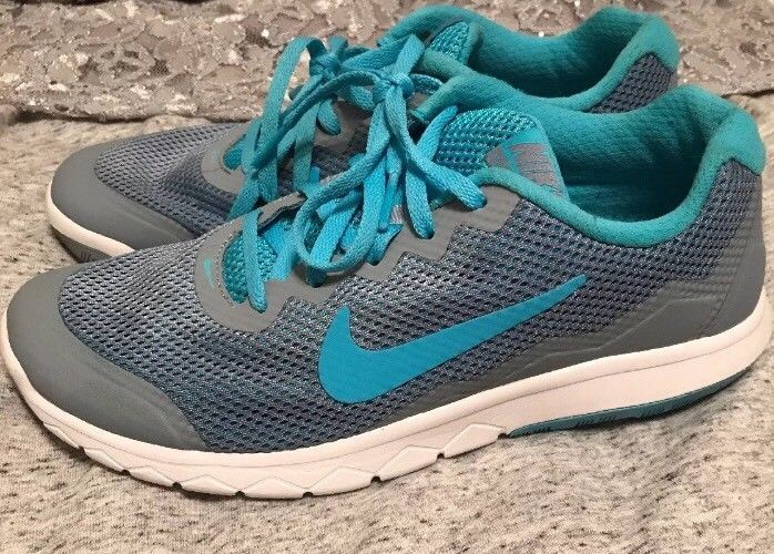 2adc94a8c2 Girls Nike Running Shoes Youth Size 6 Teal And Gray #fashion #clothing # shoes #accessories #kidsclothingshoesaccs #girlsshoes (ebay link)