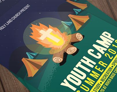 "Check out new work on my @Behance portfolio: ""Youth Camp Church Flyer Template"" http://be.net/gallery/40108195/Youth-Camp-Church-Flyer-Template"