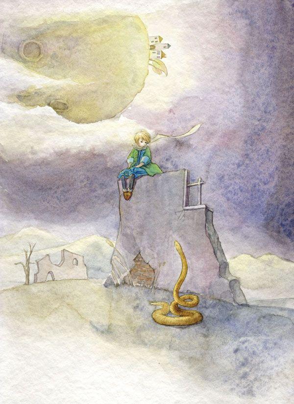 çizgili masallar: Ya-Ong Nero, The Little Prince
