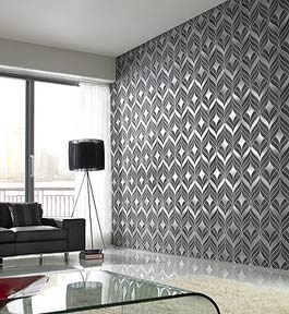 You don't have to go over board with wall covering - try one wall