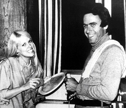 Ted Bundy with a neighbor of murderers