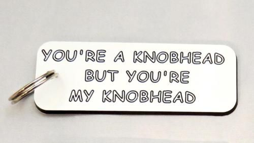 #Novelty knobhead #keyring, #funny rude joke birthday gift/present ,  View more on the LINK: 	http://www.zeppy.io/product/gb/2/231758826291/