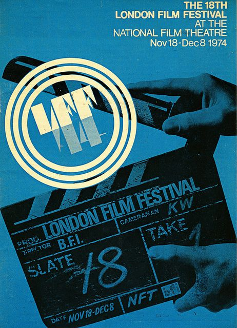 1974 London Film Festival Poster by Sight, via Flickr