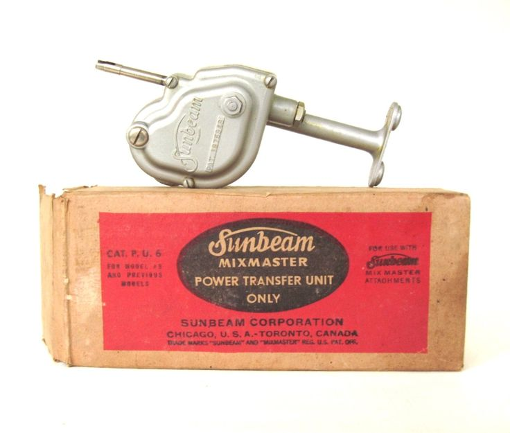 New to LaurasLastDitch on Etsy: Sunbeam Mixmaster Power Transfer Unit 10 & PU6 Electric Mixers (21.99 USD)