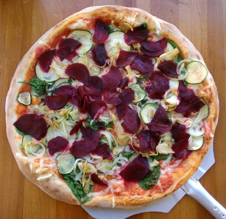 Pizza z burakiem