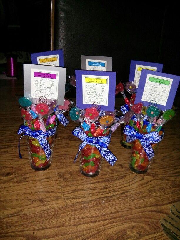 Wedding reception centerpieces games