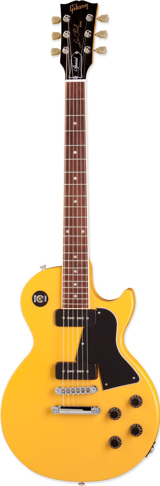 Gibson Les Paul Junior Special P90 Satin Yellow electric guitar